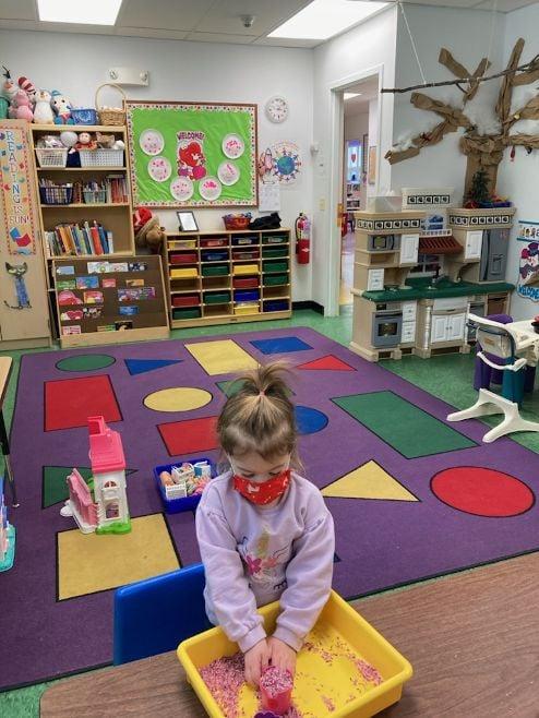 2s Room at Pre-School
