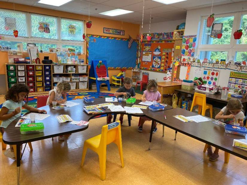 TK Room at Pre-School
